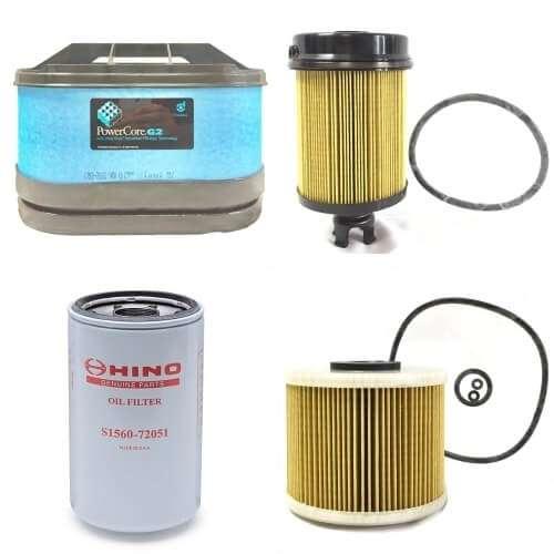Hino Filter Service Kit (195, 195H)