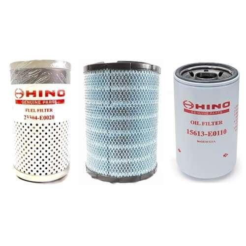 Hino Filter Service Kit (238, 258, 268, 338)