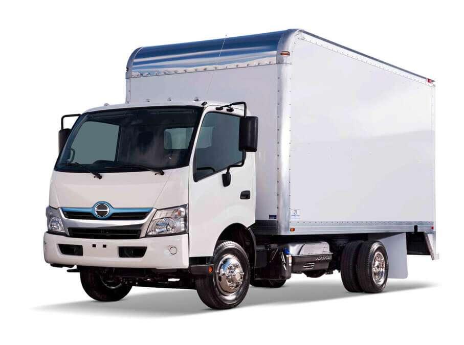 2020 Hino 195 Dry Box Van