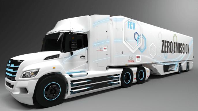 2021 Hino Electric Truck
